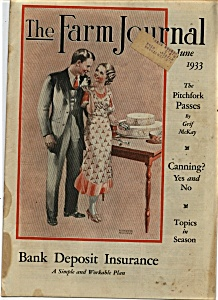 The Farm Journal - June 1933 (Image1)