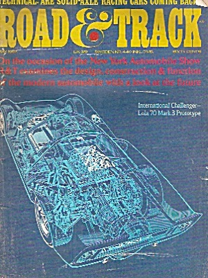 Road & Track magazine -  May 1967 (Image1)