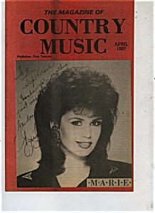 The Magazine Of Country Music - April 1987