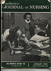 Journal Of Nursing - January 1959