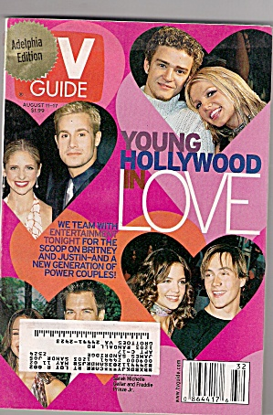 TV GUIDE -  aUGUST 11 TO August 17,  2001 (Image1)