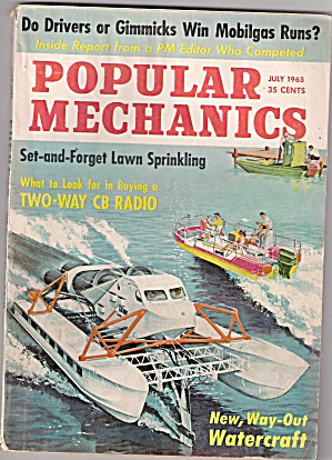 Popular Mechanics - July 1963