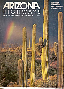 Arizona Highways =-  September 1989 (Image1)