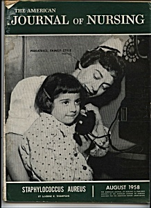 Journal of Nursing - August 1958 (Image1)