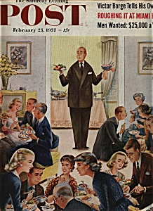 The Saturday Evening Post - February 23, 1957 (Image1)