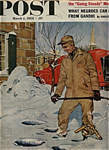 The Saturday Evening Post - March 1, 1958