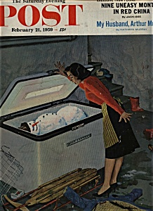 The Saturday Evening Post - February 21, 1959 (Image1)