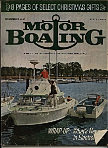 Motor Boating Magazine November 1963 (Image1)