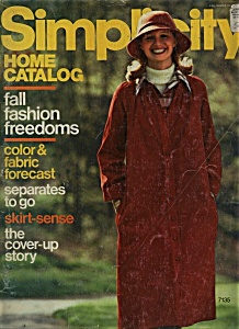 Simplicity - Fall/winter 1975