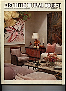 Architectural  Digest - October 1991 (Image1)