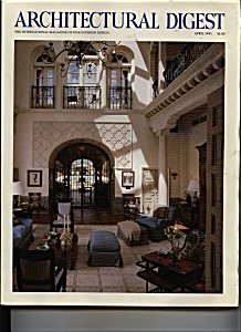 Architectural Digest - April 1991 (Image1)