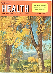 Life and Health magazine- October 1952 (Image1)