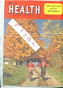 Life and Health Magazine -  October 1953 (Image1)