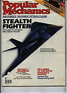 Popular Mechanics - January 1989