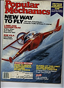 Popular Mechanics - July 1989