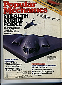 Popular Mechanics - October 1989