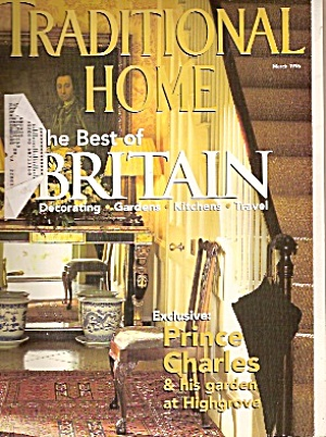 Traditional Home - March 1996