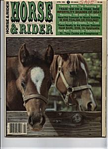 Horse& Rider - April 1986 (Image1)