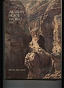 Arabian Horse World - February 1978