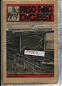 Paso Fino Digest - May 1986 (Image1)