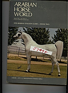 Arabian Horse World - january 1978 (Image1)