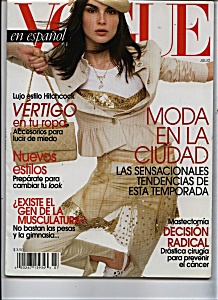 Vogue Spanish Magazine - July 2002?