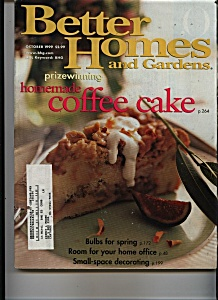 Better Homes and Gardens - October 1999 (Image1)
