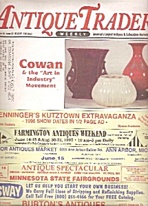 Antique Trader weekly newspaper/magazine -  June 4, 199 (Image1)