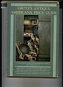 Grotz's Antique Americana Price guide -  1987 (Image1)