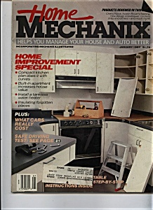 Home Mechanix - January 1987 (Image1)
