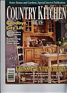 Country Kitchen Ideas - Spring/summer 1996 (Image1)