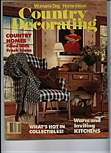 COUNTRY DECORATING   - Spring 1988 (Image1)