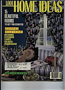 1,001 Home Ideas - October 1988 (Image1)