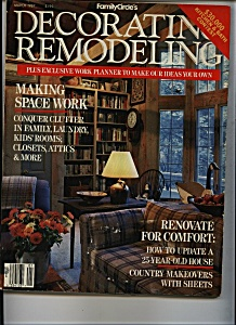 DECORATING REMODELING  - March 1987 (Image1)