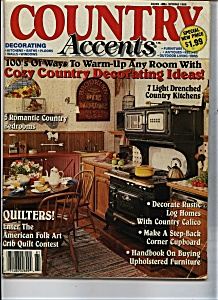 Country Accents - Sspring 1988 (Image1)