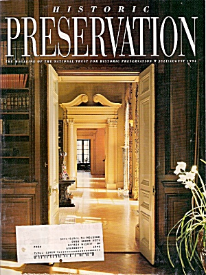 Historic Preservatiion -July-August 1994 (Image1)
