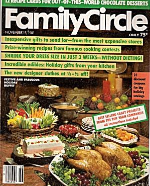 Family Circle -  November 15, 1983 (Image1)