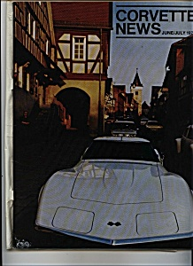 Corvette News   June/ July 1975 (Image1)