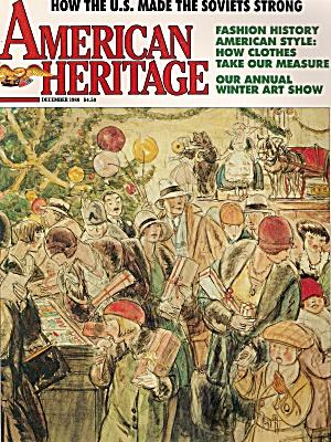 American Heritage magazine -  December 1988 (Image1)