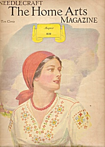 The Home Arts Needlecraft magazine - August 1934 (Image1)