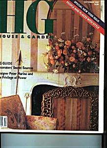 House & Garden  - October 1989 (Image1)
