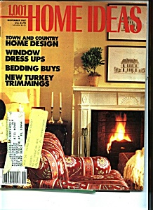 1,001 HOME IDEAS - November 1987 (Image1)