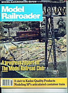 Model Railroader magazine -  October 1983 (Image1)
