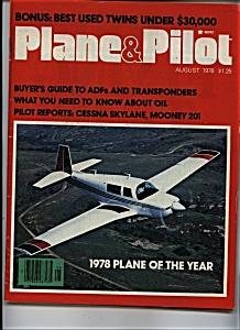 Plane & Pilot - August 1978 (Image1)