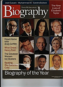 Biography -  January 2000 (Image1)