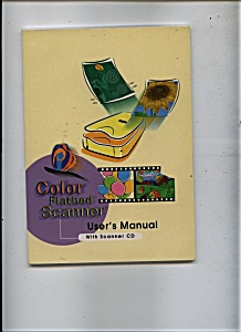 Color Flatbed Scanner - User;s Manual (Image1)