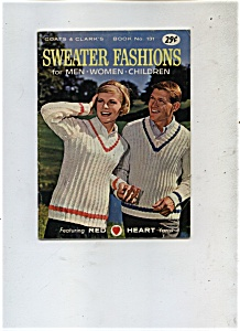 Sweater Fashions - Copyright 1962