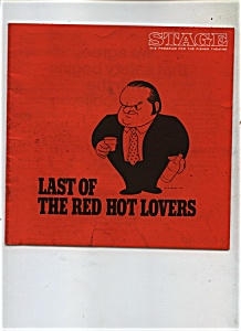 LAST OF THE RED HOT LOVERS Theatre Program Vintage (Image1)