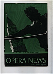 Opera News - March 7, 1955 (Image1)
