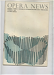 Opera News - November 14, 1959 (Image1)